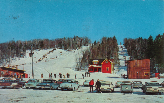 Mount Snow, ~1960-61, courtesy of New England Lost Ski Areas Project (nelsap.org)